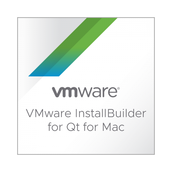 VMware InstallBuilder for Qt for Mac